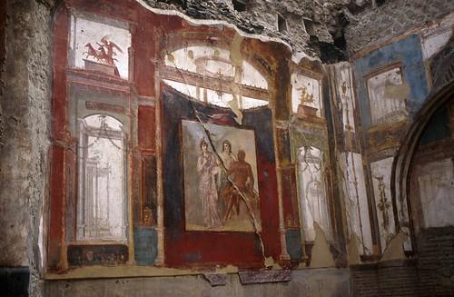 Panel Of Wall Painting Herculaneum