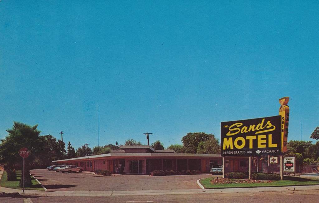 Sands Motel - Sacramento, California