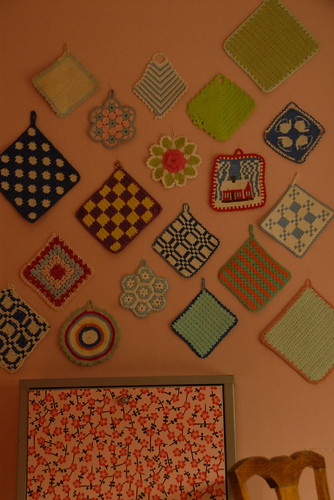 Some of my potholders. | by Toodeloo!