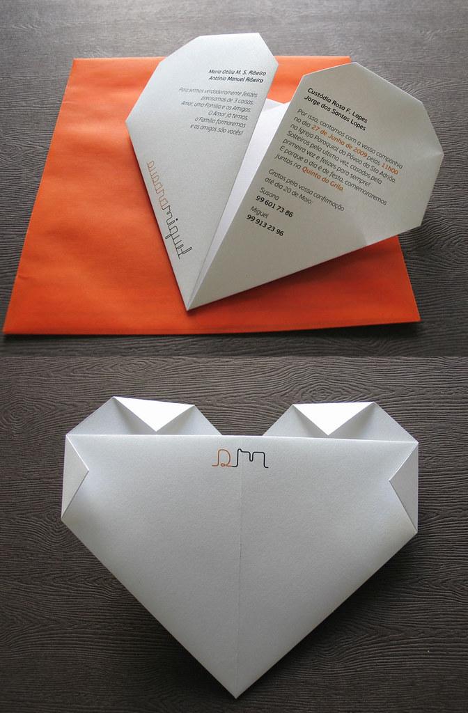 wedding invitation  u0026 39 origami u0026 39