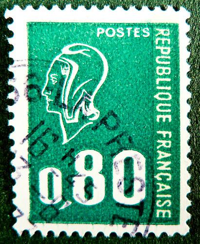 Sending Letter To France Stamps