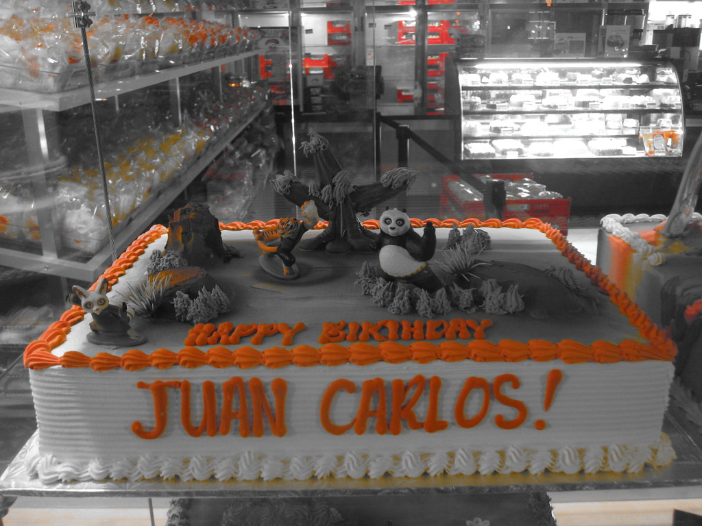 Juan Carlos Birthday Cake