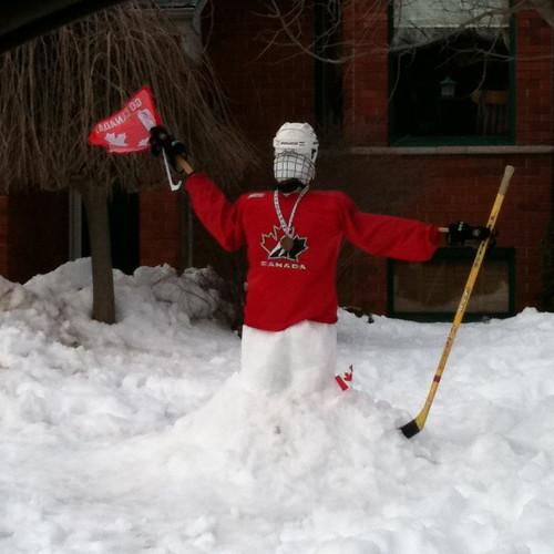 Hockey Snowman | Hocke...