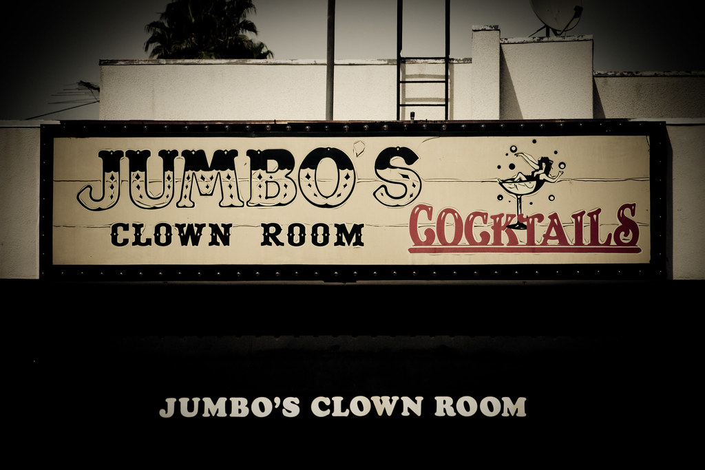 Jumbo\'s Clown Room | 5153 Hollywood Blvd., Hollywood CA. Ope… | Flickr
