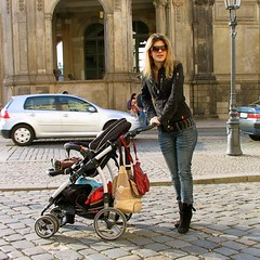 Moderne Mutter