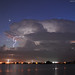 Thunderstorm over the Florida Everglades