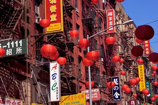 Facade in Chinatown, New York | by Martin Solli