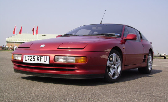 1994 renault alpine a610 turbo seen at a charity track. Black Bedroom Furniture Sets. Home Design Ideas
