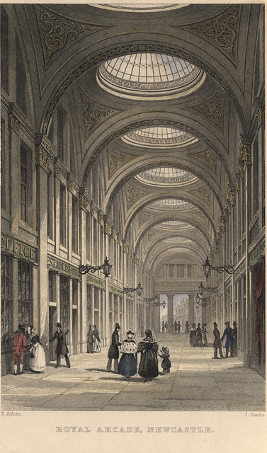A101 Royal Arcade Newcastle Upon Tyne T Allom 1833 Flickr