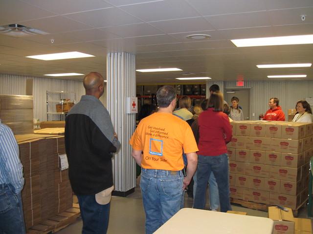 Mid Ohio Food Bank Volunteer