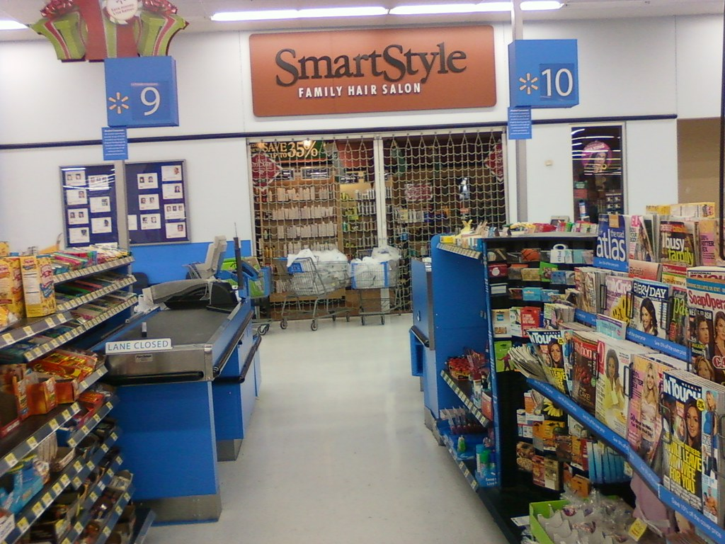 smart style hair salon walmart wal mart council bluffs iowa registers 9 10 and the 1065