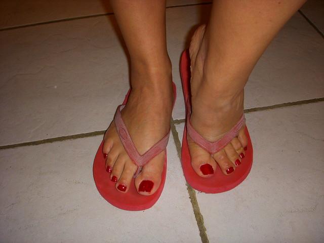 Latina feet and legs