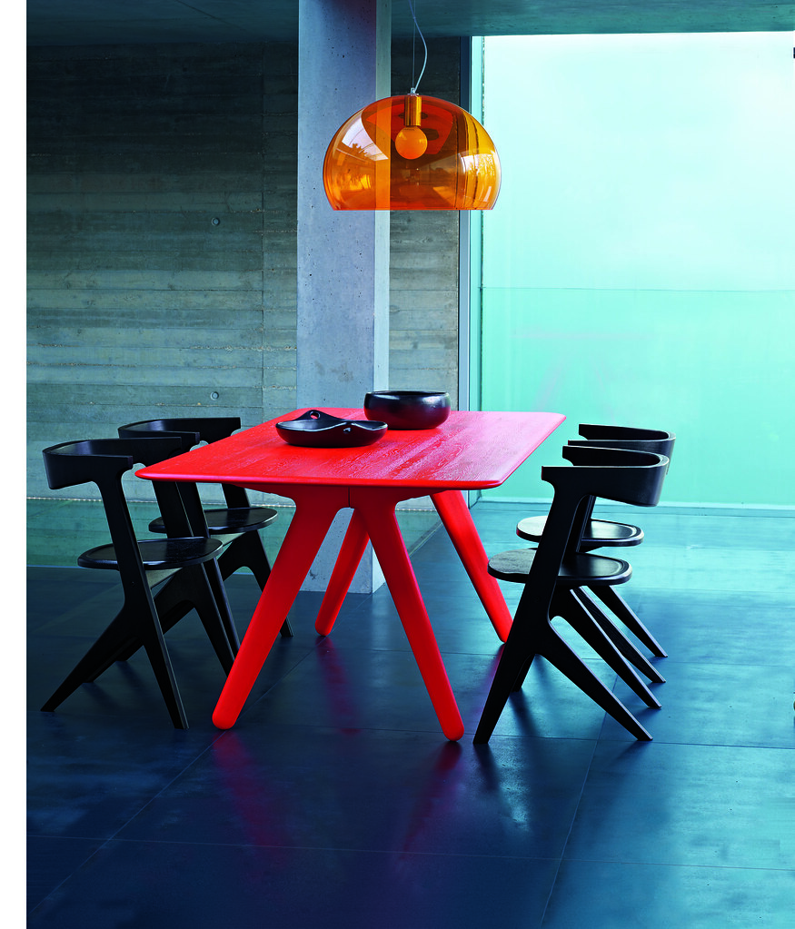 Slab Dining Table & Chairs by Tom Dixon | Zing into Spring w… | Flickr
