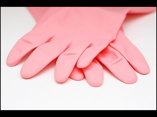rubber gloves | by Piccadilly Pink