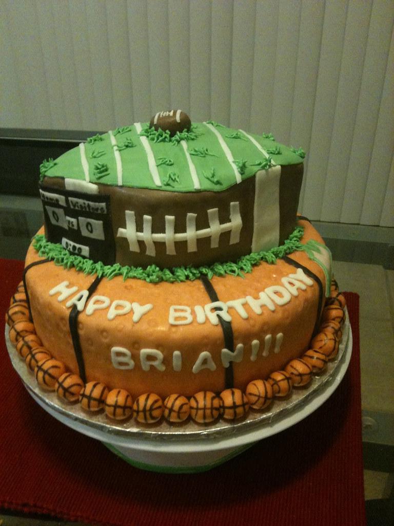 Basketball Birthday Cake Images