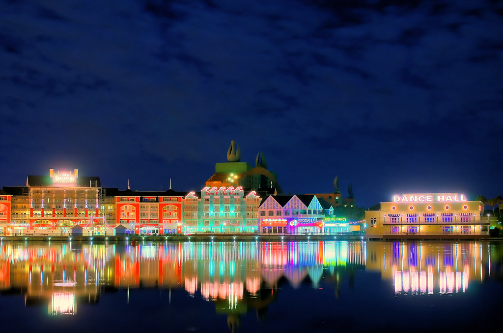 Daily Disney Boardwalk At Night Explored View On