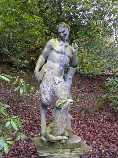 Pan Statue In The Grounds Of Chatsworth House Elaine