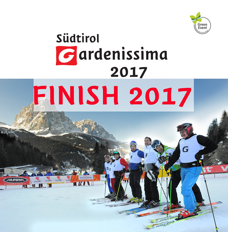 FINISH Südtirol Gardenissima 2017