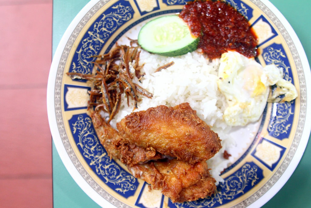 Hawker Centre in Singapore: Changi Village Food Centre Nasi Lemak