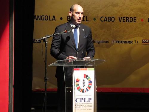 I Conferência Internacional CPLP – «Desenvolvimento Económico e Erradicação da Pobreza Através da Agricultura»