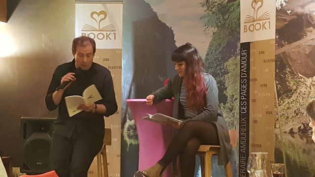 """13/02/2017- """" Coups de coeur des libraires """" -au restaurant le Mandala"""