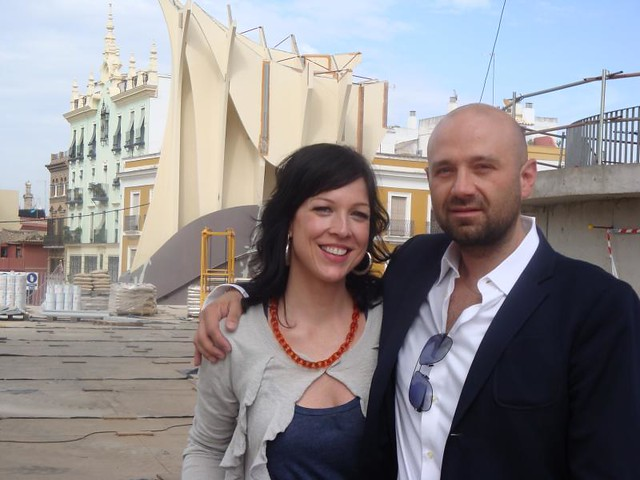 Amy Devers with Juergen Mayer H. | Amy Devers with architect… | Flickr