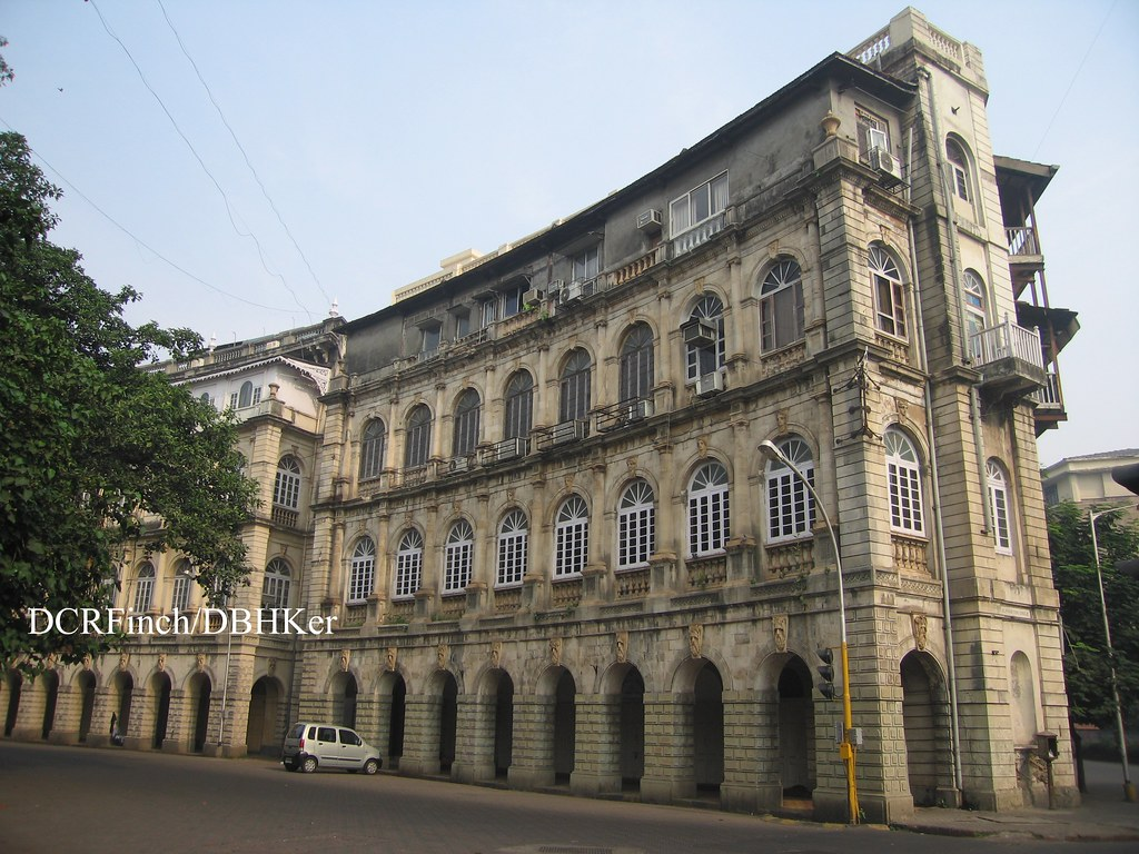 Elphinstone Circle Bombay 1869 Elphinstone Circle