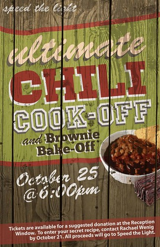 Chili Cook Off Poster Vanessa Torweihe Flickr
