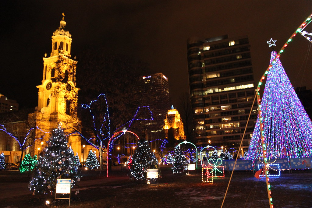 Cathedral Square Park - Christmas Lights | The Christmas ...