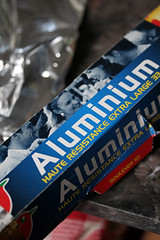 aluminum foil | by David Lebovitz