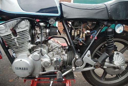 Yamaha Xs Airbox Removal