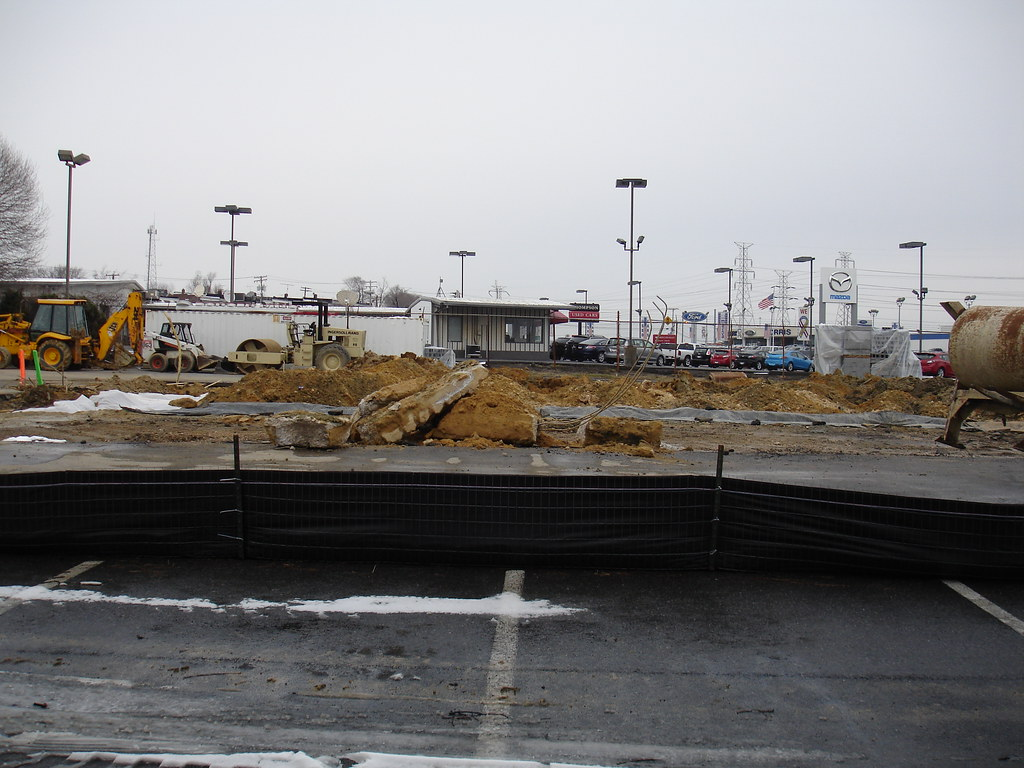 Construction of the new Burger King shows no signs of stop… | Flickr