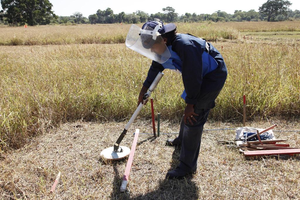 Sweeping A Minefield In Sri Lanka Saila A 29 Year Old