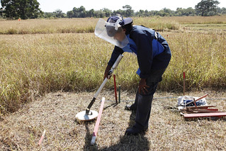 Sweeping a minefield in Sri Lanka | by DFID - UK Department for International Development