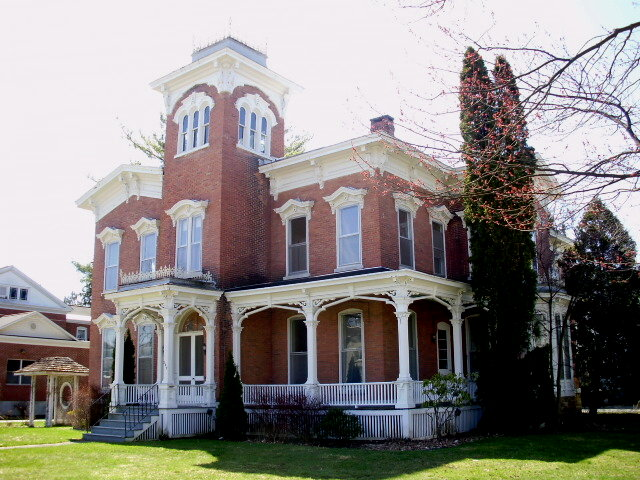 Italianate Mansion On Main Street Oneida New York Flickr