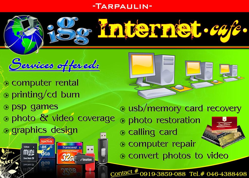 Internet Cafe Banner