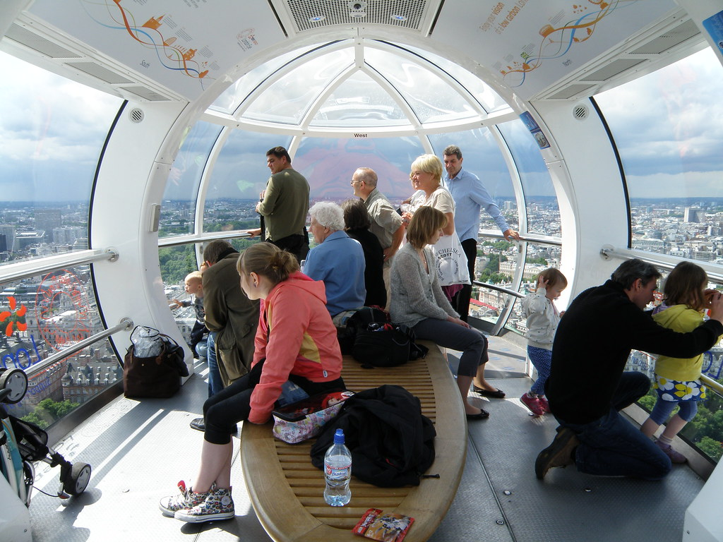 Inside The London Eye I Took This Photo On 10 June 2011