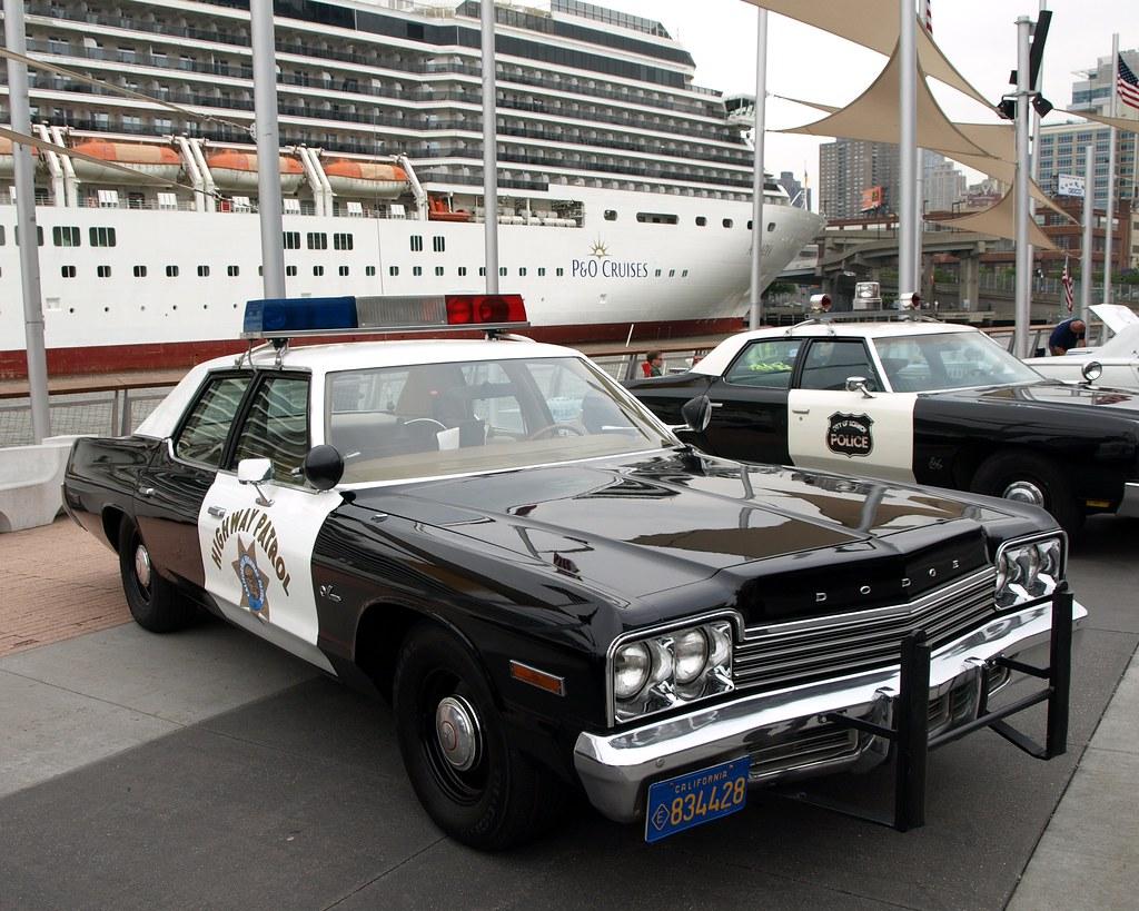Vintage Dodge Monaco California Highway Patrol Police Car ...