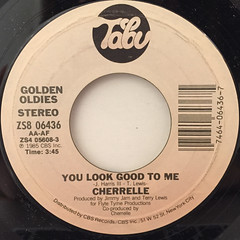 CHERRELLE:YOU LOOK GOOD TO ME(LABEL SIDE-A)