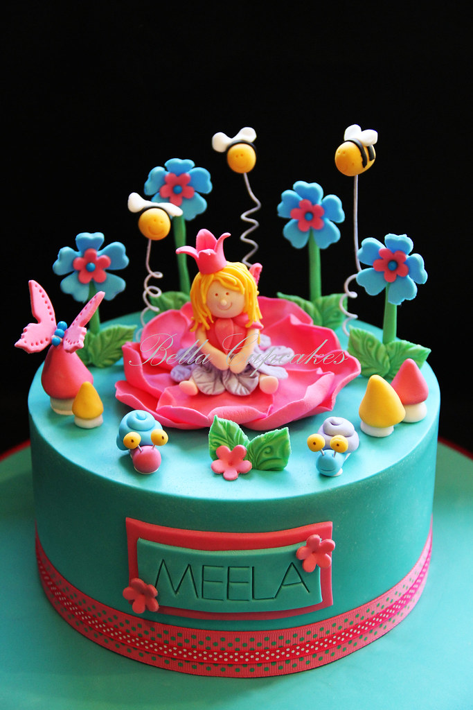 Magical Rose Fairy Made For A Little Girls 1st Birthday