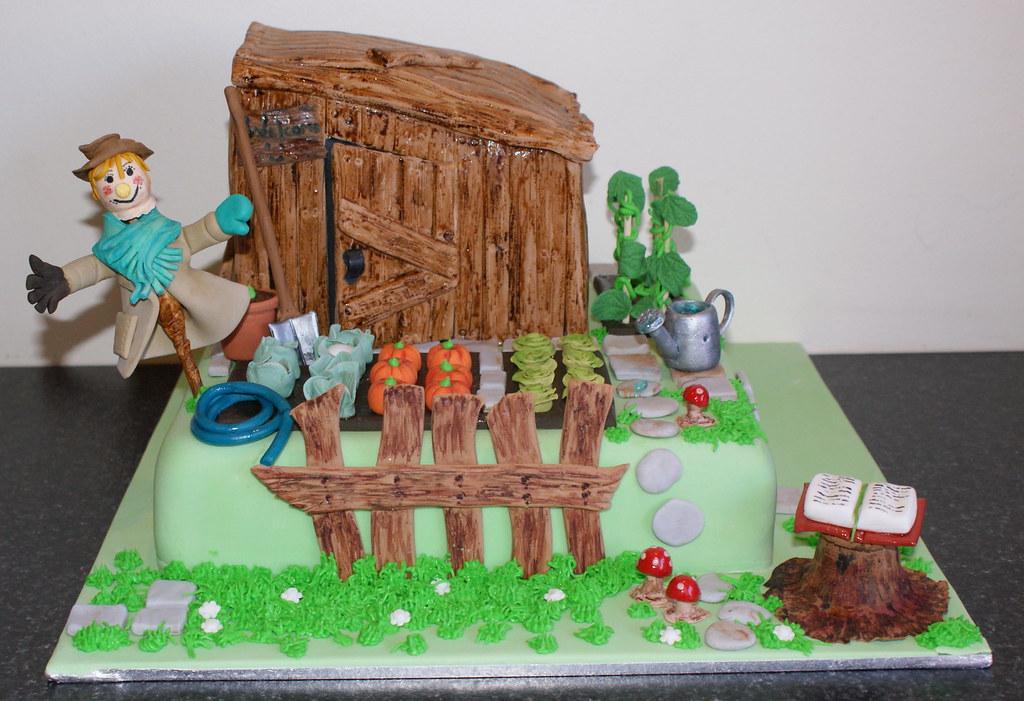 Vegetable Garden Cake | Modified Debbie Brown design | Flickr