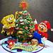 SpongeBob & Mario Christmas