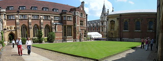 Panorama of Pembroke College's Old Court | by huangcjz