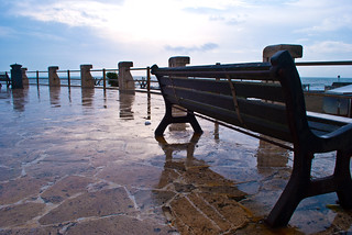 Panchina Rotonda : Panchina sulla rotonda ad ostia tux68 flickr