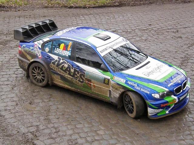 08 Bmw 3 Series A Lefevere Bel Rally Van
