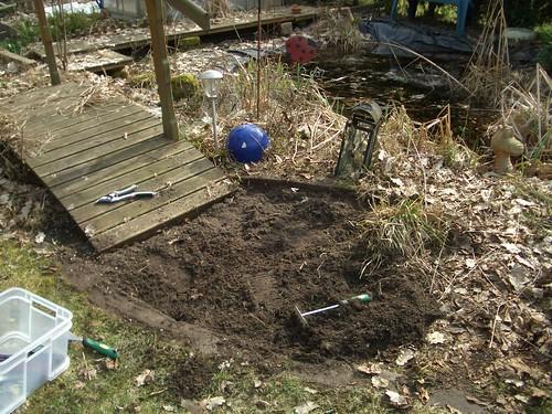 Gartenweg 1 mein gartenweg war nicht mehr als solcher zu - Rindenmulch als gartenweg ...