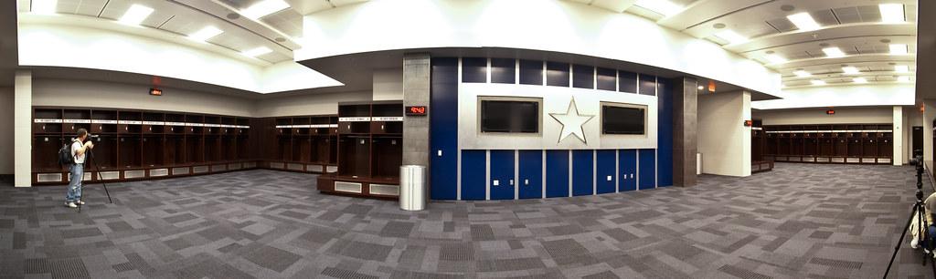 Cowboys Locker Room