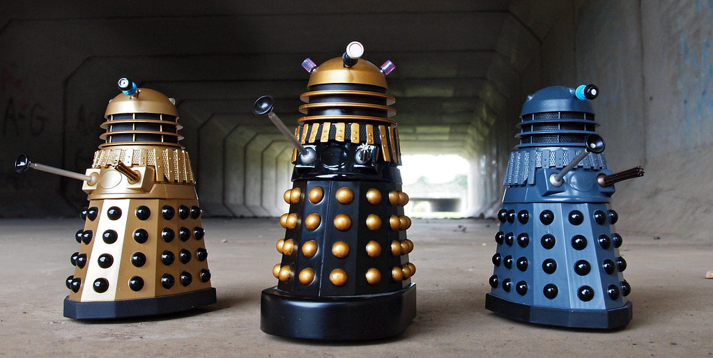 Classic Daleks The 70 S Shot This As A Companion Piece
