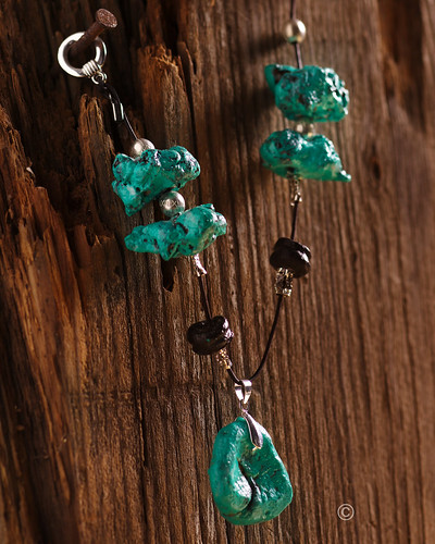 Pillsbury Turquoise and Black Onyx Necklace 1 | by Betty Crocker Recipes