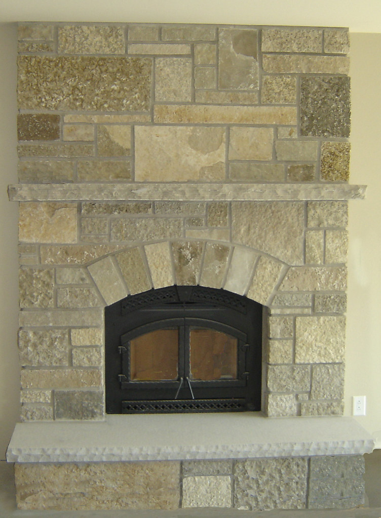 Fond du Lac Castle Rock | This fireplace uses Buechel ...